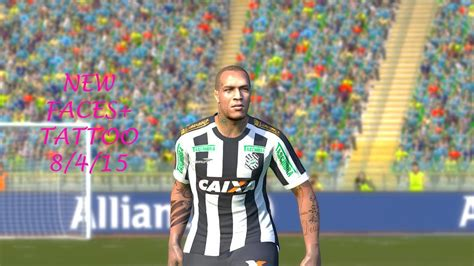 dybala tattoo pes 2016 pes 15 update faces tattoo 08 04 2015 youtube