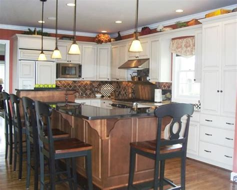 eat in island kitchen pin by shelly nicely on kitchen pinterest
