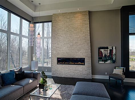 gray tones for living room contemporary living room in grey tones contemporary living room ottawa by realstone systems