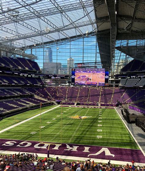 fan zone us bank stadium minnesota vikings owner thinks big with stadium and