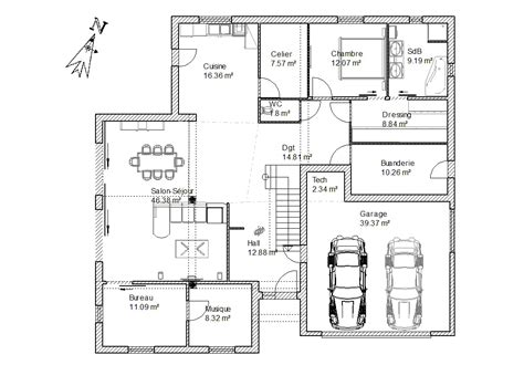 Dessiner Un Plan De Maison 3784 by Trendy Cuisine Meilleures Id Es Propos De Plan Maison Sur