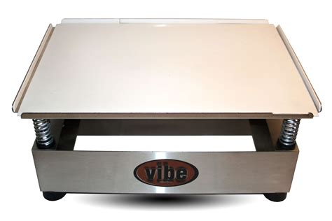 Vibrating Table by Chocolate Vibrating Table Air Remover