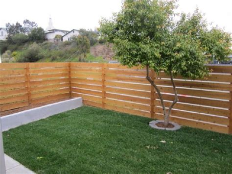 horizontal wood fence horizontal wood fence designs studio design gallery