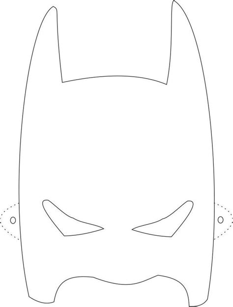 batman mask template printable eva pinterest