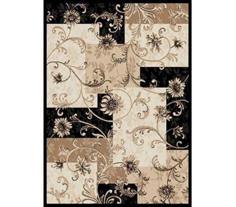 Room Decor Fancy Desktop Alarm black beige floral rug college room rug fancy
