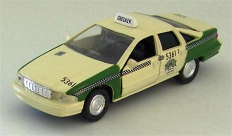 Diecast Chevrolet Taxi road chs 6430 61 1 43 scale diecast 1996 chevy caprice