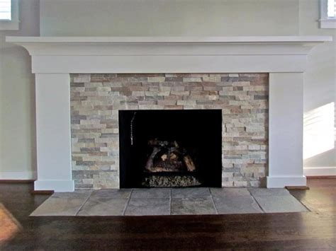 Pebble Tile Fireplace by Fireplace Ledgestone Beachwalk Traditional Living Room Detroit By Troy Tile