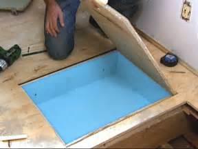 Floor Storage How To Make Hideaway Storage Compartments In The Floor