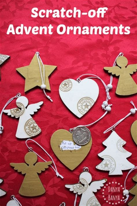 how to make your own calendar out of paper diy scratch advent calendar ornaments danya banya