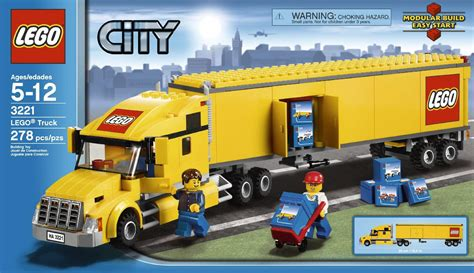 lego truck onetwobrick33 lego set database lego set database 3221