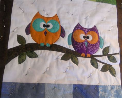 Owl Baby Quilt Pattern by S Quilts And Crafts Jaime S Baby Owl Quilt