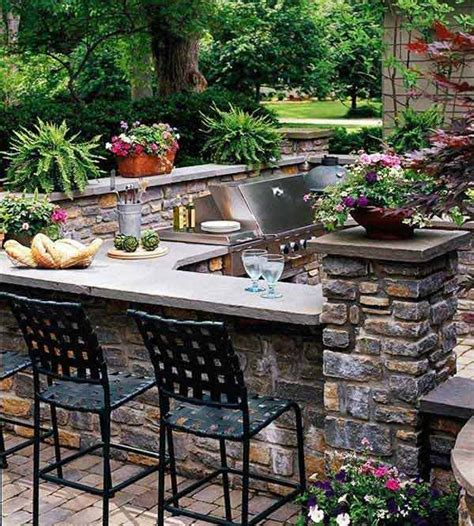 back yard kitchen ideas outdoor kitchen ideas let you enjoy your spare time amazing diy interior home design