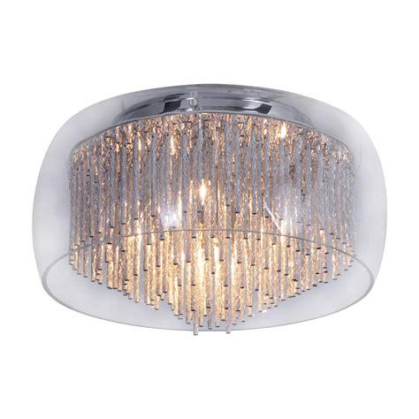 deckenleuchte silber deckenleuchte panoli by n 228 ve aluminium glas silber 5