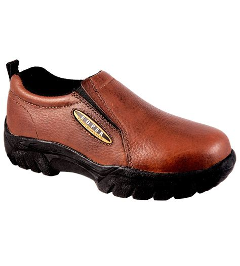 roper s sport slip on shoes smooth bay brown