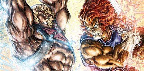 Dc Comics He Thunder Cats 4 March 2017 he vs thundercats the fight we ve dreamed of is here