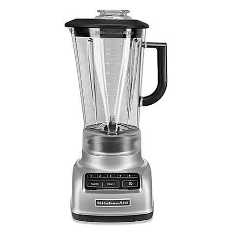 bed bath beyond blender kitchenaid 174 5 speed diamond blender in chrome bed bath