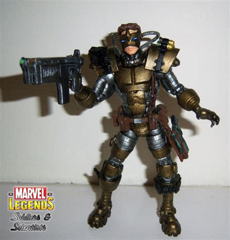Marvel Comics X Classic Light Up Weapon Wolverine Figure Moc Marvel Legends Soldiers And Scientists
