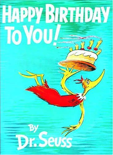 the birthday books happy birthday dr seuss a book