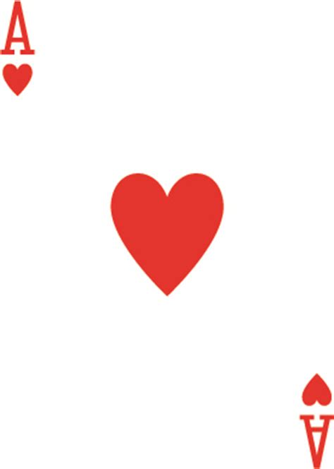 playing card ace of hearts invitations vintage wedding