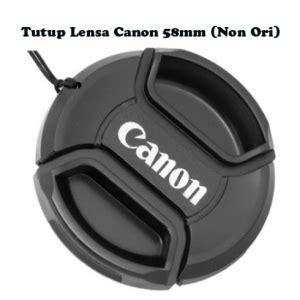 Tutup Lensa Canon Ori kameraphoto warung buat aksesoris kamera canon dslr