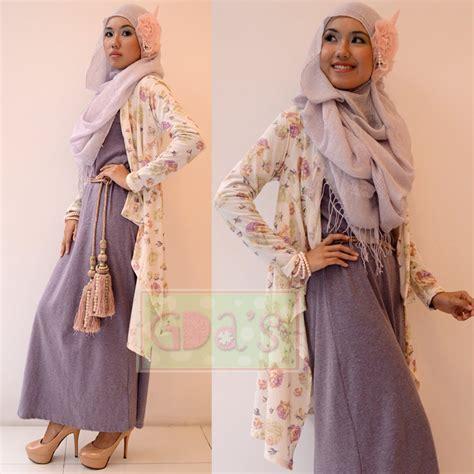 Cardigan Baby Rompi Rajut modest maxi dress style hijabiworld