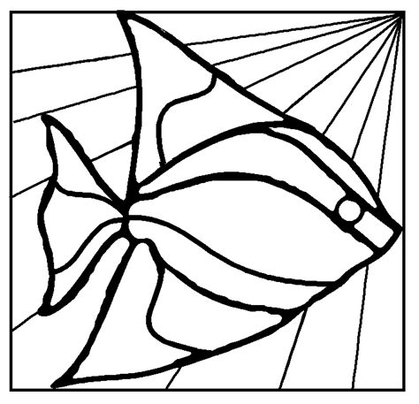Free Stained Glass Mosaic Patterns Fish Duck Stained Glass Mosaic Stepping Stone Pattern Mosaic Patterns Templates