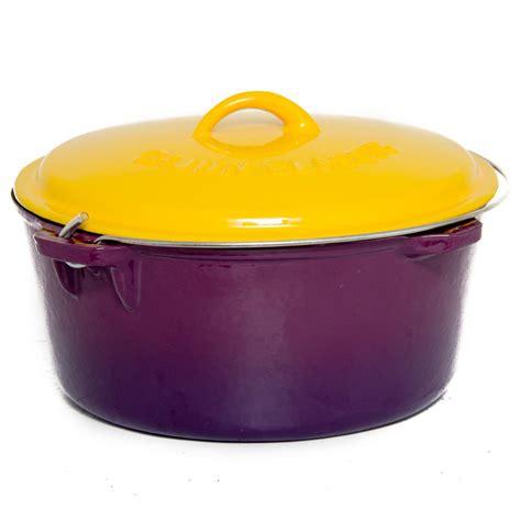 Oven Golden cajun cookware 16 quart enamel cast iron oven