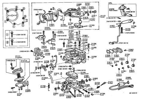 Ajuste De Motor Despiece Carburador Toyota Hilux | ajuste de motor despiece carburador toyota hilux
