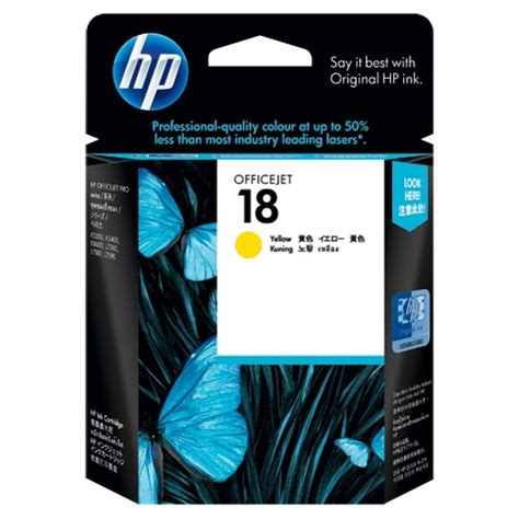 Tinta Hp 935xl Yellow Original Berkualitas hp 18 yellow ink cartridge distributor tinta toner printer original murah