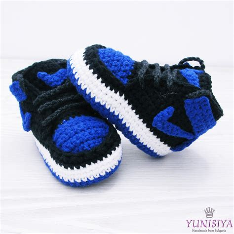 air baby shoes blue baby booties crochet baby shoes air baby boy shoes