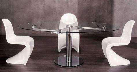 mesa redonda de cristal extensible ofertas baratas