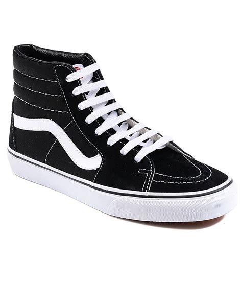 Vans Sk8 High Quality Casual Made In vans sk8 hi black casual shoes price in india buy vans sk8 hi black casual shoes at snapdeal
