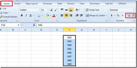 xsd decimal pattern exle excel 2010 how to decrease increase decimal places