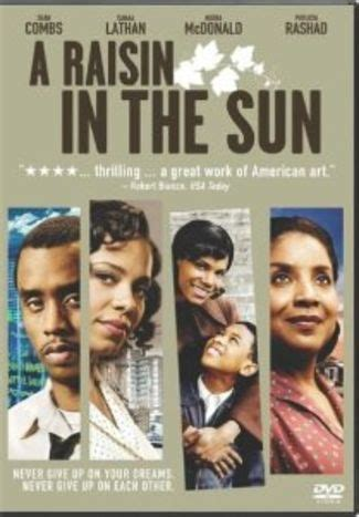 central theme of a raisin in the sun african american movies for kids working mother