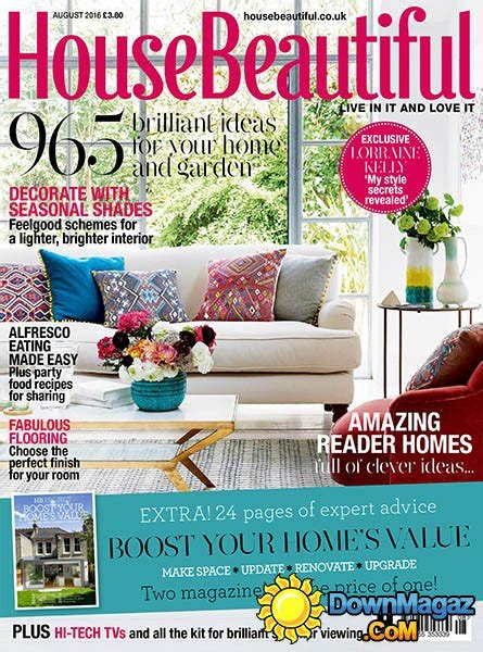 country homes interiors august 2016 187 download pdf magazines magazines commumity house beautiful uk august 2016 187 download pdf magazines