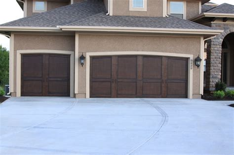 Kc Garage Doors Garage Doors Traditional Exterior Kansas City By Fauxs And Finishes