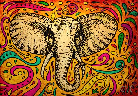 wallpaper designs india drawn wallpaper elephant pencil and in color drawn