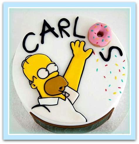 imagenes de happy birthday de los simpson pasteles para cumplea 209 os para hombres tortas decoradas