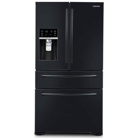 Black Door Refrigerator by Samsung Rf31fmedbbc 31 Cu Ft 4 Door Refrigerator