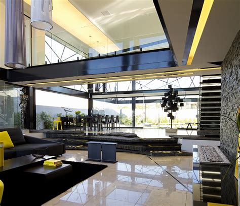 home design 3d ceiling height luxurious contemporary house in south africa with sculptural design