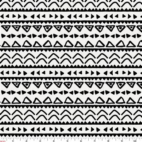black and white aztec pattern fabric onyx baby aztec fabric by the yard black fabric