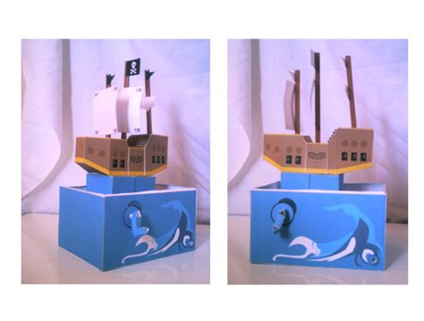 Moving Papercraft - pirate ship moving paper by sinlei on deviantart