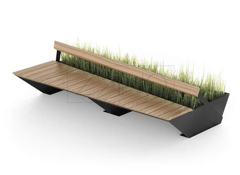bench site design penrose bench modern modular zano street furniture