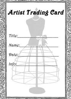 artist trading card envelope template artist trading card template this template for