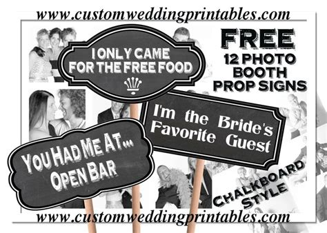 printable photo booth prop signs 8 best images of free printable photo booth chalkboard