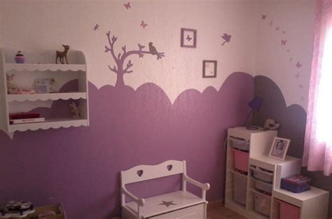 stunning idee deco chambre bebe fille mauve images