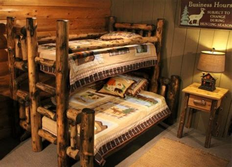 log cabin beds cabin bunk beds log cabin bunk log cabins pinterest