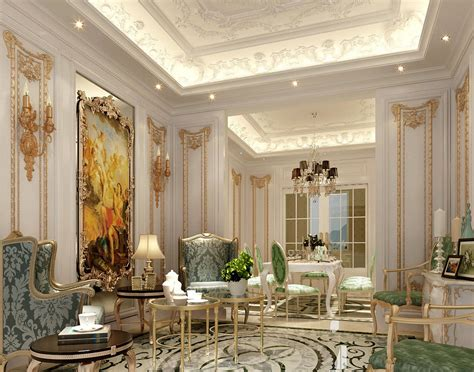 posh home interior taher design luxury classic interior 2 jpg mohamed taher