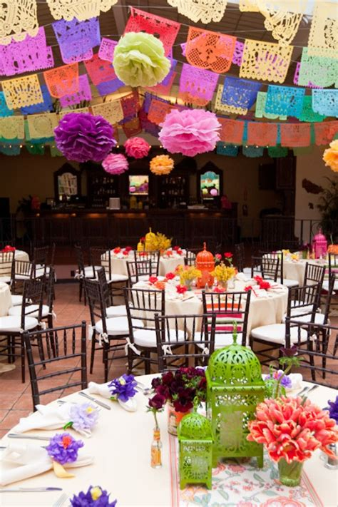 wedding rehearsal by details details cinco de mayo center pieces and de mayo