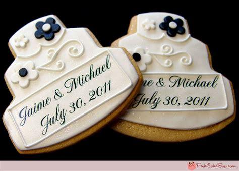 Wedding Favors Cookies by Wedding Favor Cookies 187 Cookies